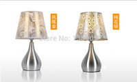 aluminum wire cloth - Table lamp ofhead modern brief fashion wedding gifts decoration curtain