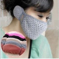 Wholesale earmuffs and mask winter warm mask with earmuffs Cotton masks ear muffs ear warmers winter face mask Z351