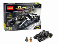 Wholesale Baby Toys Decool Building Blocks Super Heroes cars Batman joker Minifigures Bricks action Toys