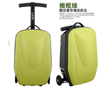 Wholesale Scooter luggage suitcase board chassis multifunctional business case