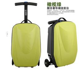 Atacado-Scooter bagagem mala bordo chassis caso de negócios multifuncional