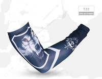 baseball arm warmer - Unisex Double Arm Sleeves Second Skin Ultralight MMA Workout GYM Yoga Baseball Cycling Arm warmer Breathable Quick Dry