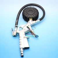 automotive tire inflator - Automotive Air Tyre Tire Inflator Inflate Hose quot Dial Gauge PSI For Car Truck