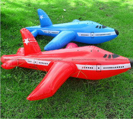 Wholesale Shanghaimagicbox Inflatable Aeroplane Blow Up Airplane Kid Child Toy Party Decoration cm
