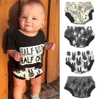 baby pants pack - Novelty Baby Potty Panties Soft Skin Feeling Baby Panties Fashion Baby Training Pants Pack of
