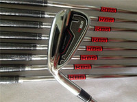 Wholesale Left Hand RSi Iron Set RSi Golf Irons OEM Golf Clubs PASw Regular Stiff Steel Shaft With Head Cover DHL Shipping