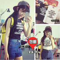 beat street - Princess House Summer Korean version of the new fashion in Europe and America Street beat concave shape of letters cool v