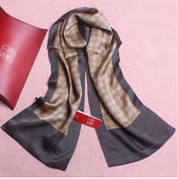 Wholesale-2015 Brand New 100% Chinese Silk Scarves Men Scarf shawl wrap Autumn &Winter scarf Fashion Men's accessories Good Quality