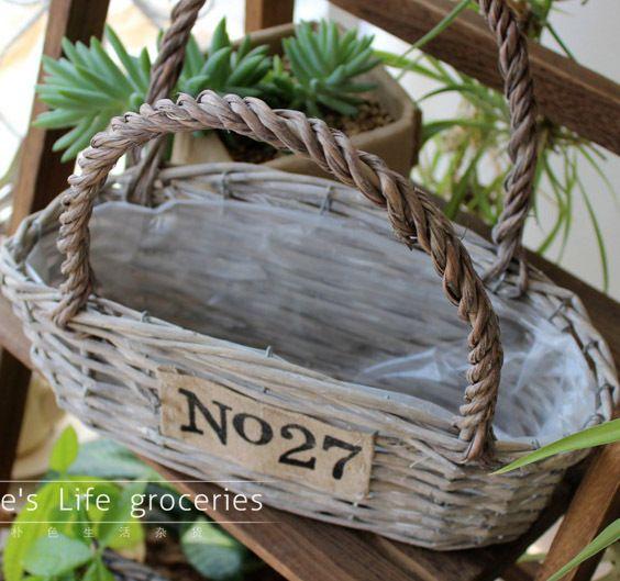 Best Wholesale Garden Pots Amp Planters Wicker Hanging Baskets