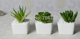 Wholesale Top price Mini indoor potted plant white ceramic handmade crafts Furniture decoration wedding decoration