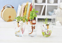 animal pot holders - Self Watering Plant Holder Tail Planters Animal Planters Cat Dog Monkey pots