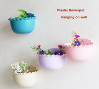 beautiful wall hangings - large flowerpot plastic hanging on wall beautiful flower pots planters with flower Rose seeds