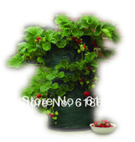 Cheap Wholesale-Free Shipping Planting Bag  planting Pot for Strawberries Vegetable Balcony vegetables