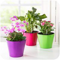 auto tool storage - Creative Auto watering pots succulents pots plastic flower pot storage lazy tool K4961