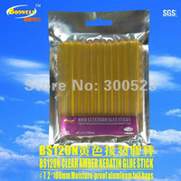 amber stick - hair keratin glue stick Mixed batch includes transparent clear amber black