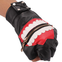 animations glove - New Animation Tokyo Ghoul Ken Kaneki Mask Cosplay Gloves Leather Fashion Ken Kaneki COS Gloves