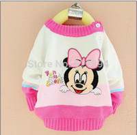 baby clearance clothing - clearance baby mini mouse cartoon fall beautiful sweater kids cute pullovers for autumn winter kids autumn clothes