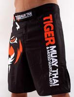 All'ingrosso-Tiger Muay Thai pantaloncini MMA Boxing Lottare Sanda ropa Boxeo bermuda pantalones Cortos MMA Hayabusa pantaloncini calci lotta boxe