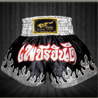Wholesale New Brand Boxing Shorts Trunks Mens Sports Clothes Fighting Competition Muay Thai Sanda Fighting Shorts Top Quality