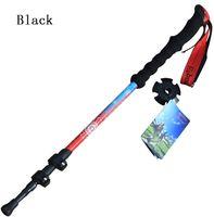 adjustable shock absorbers - New four telescopic hiking stick rod adjustable telescopic shock absorbers Nordic walking alpenstock