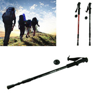 best hiking sticks - New Hot Selling Camping Adjustable Hiking Walking Pole Trekking Sticks Crutches Best Deal