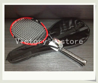 Wholesale High Quality pro staff rf Tennis Racket Racquet Roger Federer tennis racket With Bag and String
