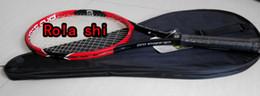 Wholesale carbon fiber BLX2 PRO STAFF TNS FRM TENNIS RACKET RACKETS GRIP SIZE L2 L3 L4 WITH BAG AND STRINGS