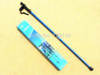 Wholesale High grade M Carbon stick with LED telescopic stick ultralight hiking poles fishing rods nordic walking sticks for old by EMS