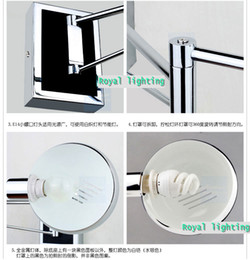 wholesale swing modern wall lamps led wall sconce bedside wall lights reading lights bedroom lamps ajustable wall mounted indoor light - Wall Mounted Bedroom Lights
