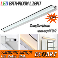 Cheap Wholesale-Novelty items 15W 92cm Super long Bathroom Mirror Tops Light led lamps smd2835 Wall mounted Bar decoration lights AC 110v 220v