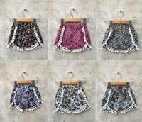 baby shorts trade - New summer foreign trade kids clothes baby girls Europe and America floral shorts baby girls leopard shorts