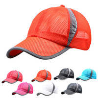Wholesale Men And Women Outdoor Holiday Sunshade Sun Hat Quick dry Ventilation Baseball Cap Perfect Gift