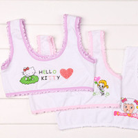big boy underwear - Children s underwear bra straps girls wide small vest female big boy girl students bra cotton growth period