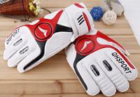 Wholesale Professional Player Full Finger Brazilian Original Soccer Football Goalkeeper Gloves Grasp good SV19