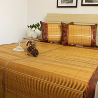 bamboo area mat - Morpheus mat bamboo mat bamboo and rattan tangjiahe dual meters piece set area