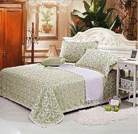 bamboo linen sheets - summer style cool ventilation sheet bamboo fiber linen mat piece kit bedding set