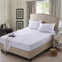 air brush fittings - Modern soft brushed thicken cotton air permeable elastic white quilted fitted mattress protector bedspread twin full queen