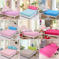 Wholesale bedding fitted sheets elastic bed cover summer mattress cover bedclothes bedspread bed sheet
