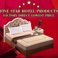 beds for hotel - High Grade Queen or King Size Thick Bed Mattress Protective Cover With Fillings Pad Mattress Topper for Hotel Home School
