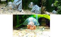 aquarium fish trap - Clear White Plastic cm Snail Trap for Aquarium Fish Plants Leech Catch Environmental Nature