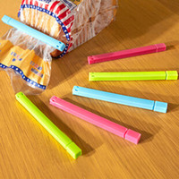 accessory plaza - Micro Plaza thick plastic good quality clip bags green kitchen accessories bag clip llaveros plastic bags vacuum seal