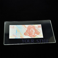 banknote holder - Ultra thick world money collection bag clips parper money holder Money Album Banknote NOTE money not included