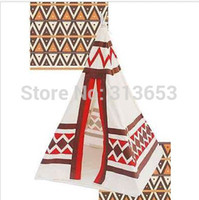 Cheap Wholesale-2015 kids playhouse children photo tent outdoor camping tent Indian Teepee  indoor kids tent play house