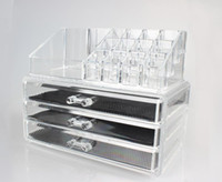 acrylic storage drawers - Storage Cosmetics Makeup Organizer Drawer Acrylic Transparent