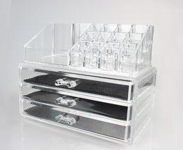 Wholesale Storage Cosmetics Makeup Organizer Drawer Acrylic Transparent