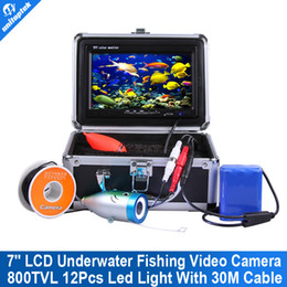 Wholesale New Arrival quot TFT LCD Underwater Video Camera System Fish Finder Underwater DeLight Fishing Camera System HD TVL M Cable