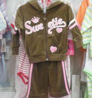 baby sweatsuit - Baby Girls sets sweatsuit Tracksuits Sets coat Top pants Jumper Pant Hoodies18sets