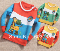 Wholesale New Cute Horse Mouth Baby Sweater Kid Sweater Boy s Girl s Sweater Children Wear Sweater