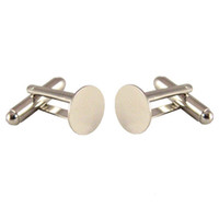 Wholesale Cuff Links Blanks pairs mm Glue Pads
