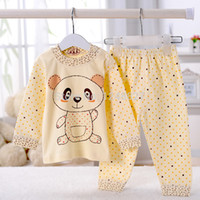 bear factory clothes - months New Genuine factory direct cotton children s underwear sets Newborn baby girl boy bear cartoon clothing suit